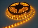 3528 Led Strip Yellow DC12v 5mtr