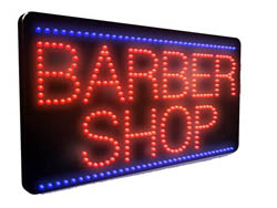 Barber Shop LED Sign