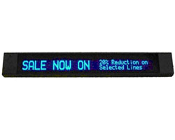 Bright Blue VFD Displays