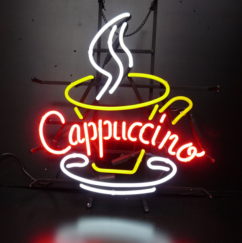Neon Light Shop In Philippines: Cappuccino Neon Sign