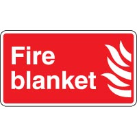 Fire Safety Sign Fire Blanket 048