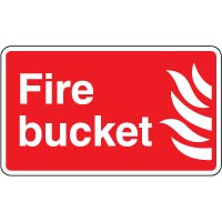 Fire Safety Sign - Fire Bucket 051
