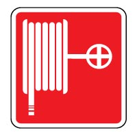 Fire safety sign - Fire Hose 005