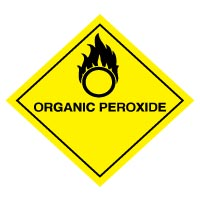 Hazard safety sign - Organic Peroxide 048