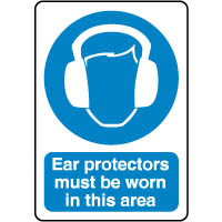 Mandatory Safety Sign - Ear Protectors 046