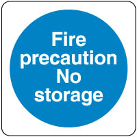 Mandatory Safety Sign - Fire Precaution 061