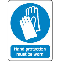 Mandatory Safety Sign - Hand Protection 072