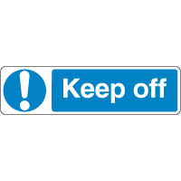 Mandatory Safety Sign - Keep Off 095