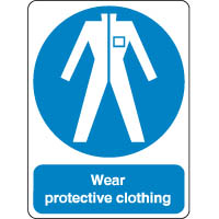 Mandatory Safety Sign - Wear Protective 191