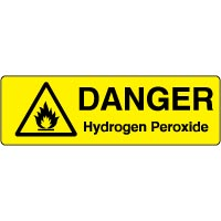 Markers safety sign - Hydrogen Peroxide 010