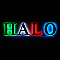 Moulded Letters (Halo Illuminated)