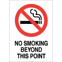 No Smoking safety sign - No Smoking This 023