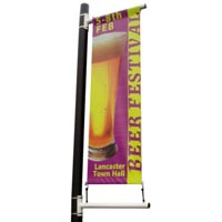 Post Mounting 60cm Banner & Pole kit