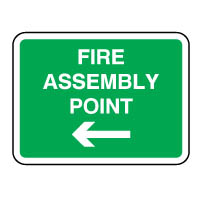 Safe Safety Sign - Fire Assembly To 085