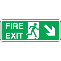 Safe Safety Sign - Fire Door Right 112