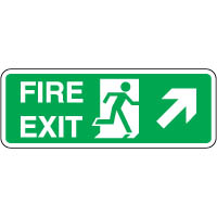 Safe Safety Sign - Fire Exit Door 114