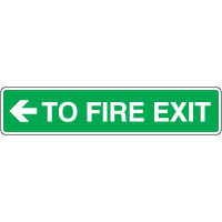 Safe160 - To Fire Exit Left