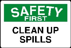Saff012 - Clean Up Spills