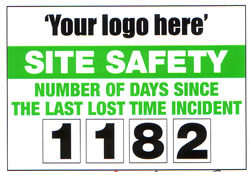Site Safety Sign (Your Logo Here) 2