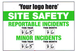 Site Safety Sign (Your logo here) 3