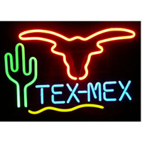 Tex Mex Neon Sign