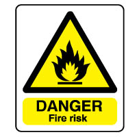 Warn149 - Danger Fire Risk