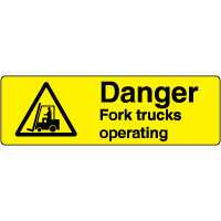 Warn156 - Danger Fork Trucks