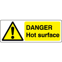 Warn170 - Danger Hot Surface