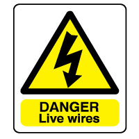 Warn185 - Danger Live Wires