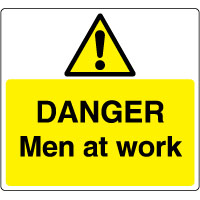 Warn190 - Danger Men at Work