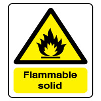 Warn240 - Flammable solid