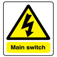 Warn261 - Main switch
