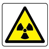 Warning safety sign - Radiation 027