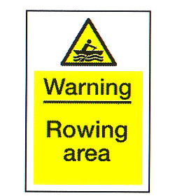 Warning Sailing Area