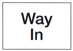 Way in Sign