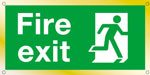 Fire Exit Wall & Door Sign