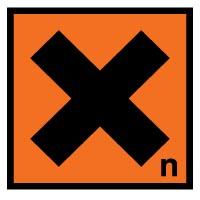 Hazard safety sign - Toxic-Harmful 068