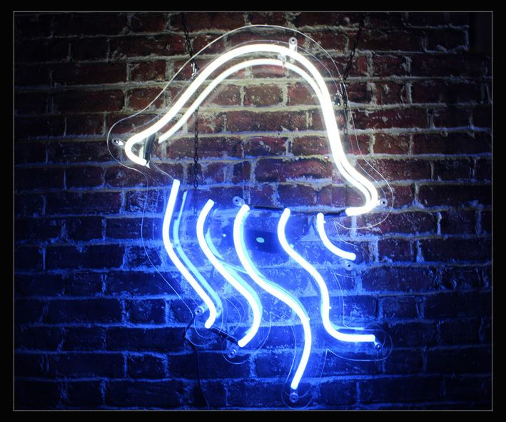 Jelly Fish Neon Sign - photo#32
