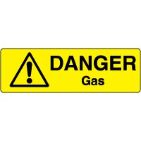Markers Safety Sign Gas 006