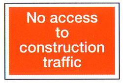 No Access To Construction