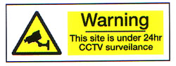 Warning This Site is Under 24hr CCTV